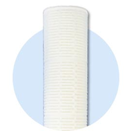 High flow membrane pleated filters